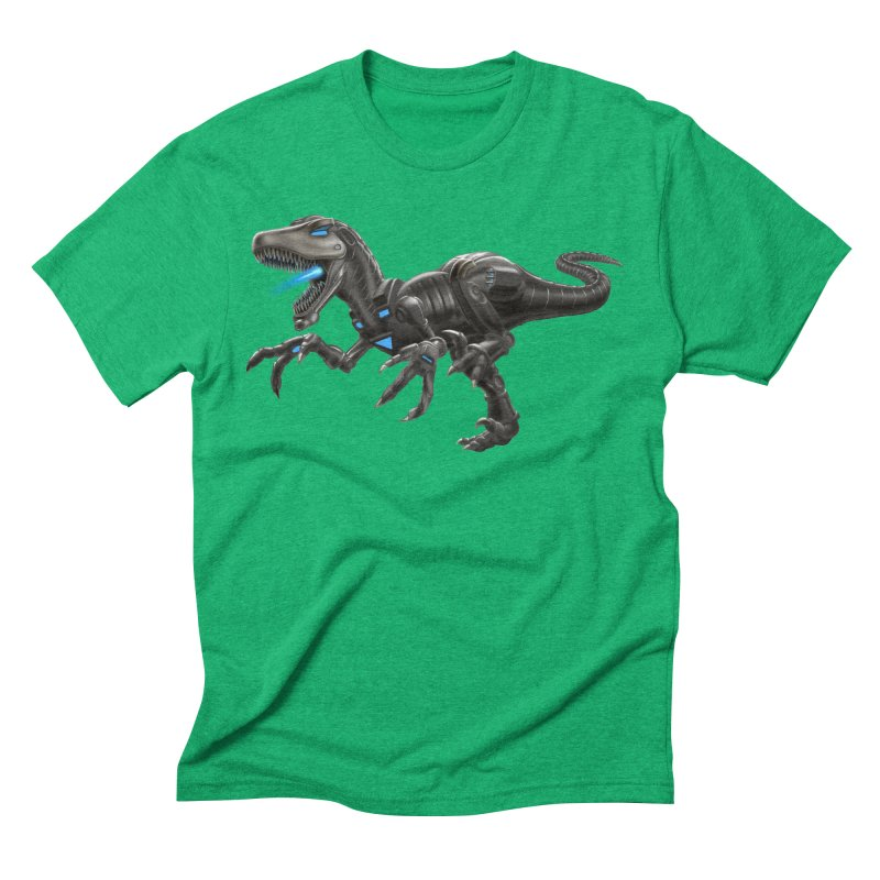 Metal Raptor Men's Triblend T-Shirt by Ayota Illustration Shop