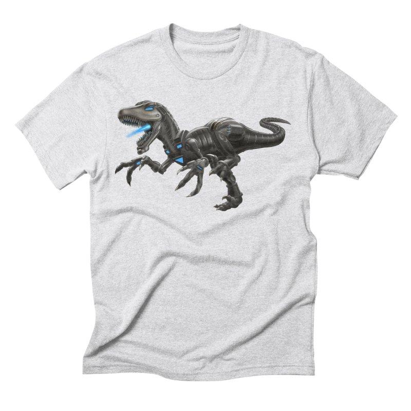 Metal Raptor Men's Triblend T-Shirt by Ayota Illustration Shop