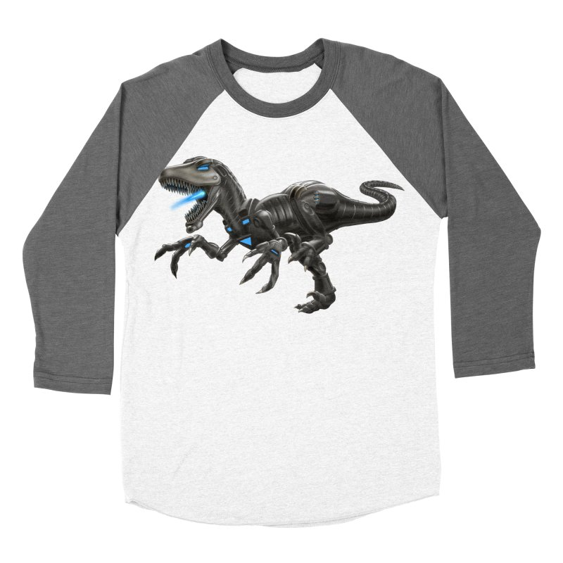 Metal Raptor Women's Baseball Triblend Longsleeve T-Shirt by Ayota Illustration Shop