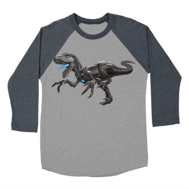 Metal Raptor Women's Baseball Triblend Longsleeve T-Shirt by Ayota Illustration Shop