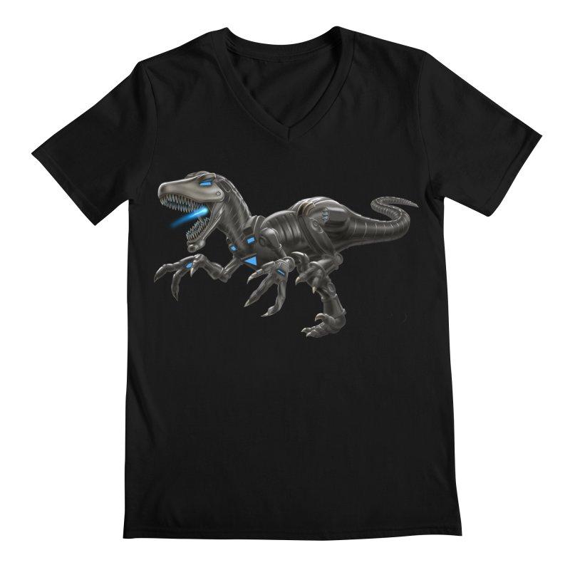 Metal Raptor Men's V-Neck by Ayota Illustration Shop