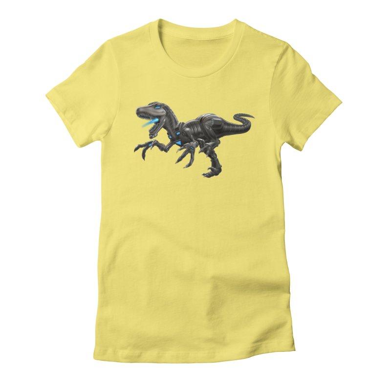 Metal Raptor Women's T-Shirt by Ayota Illustration Shop