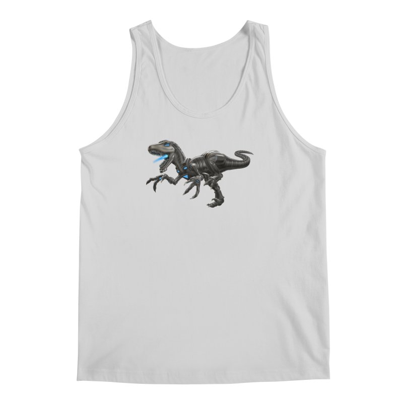 Metal Raptor Men's Regular Tank by Ayota Illustration Shop