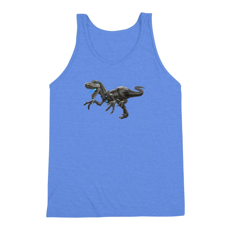 Metal Raptor Men's Triblend Tank by Ayota Illustration Shop