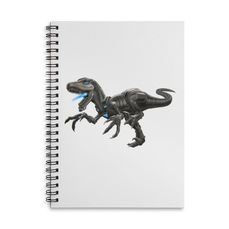 Metal Raptor Accessories Notebook by Ayota Illustration Shop