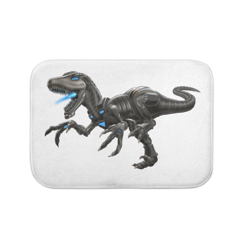 Metal Raptor Home Bath Mat by Ayota Illustration Shop