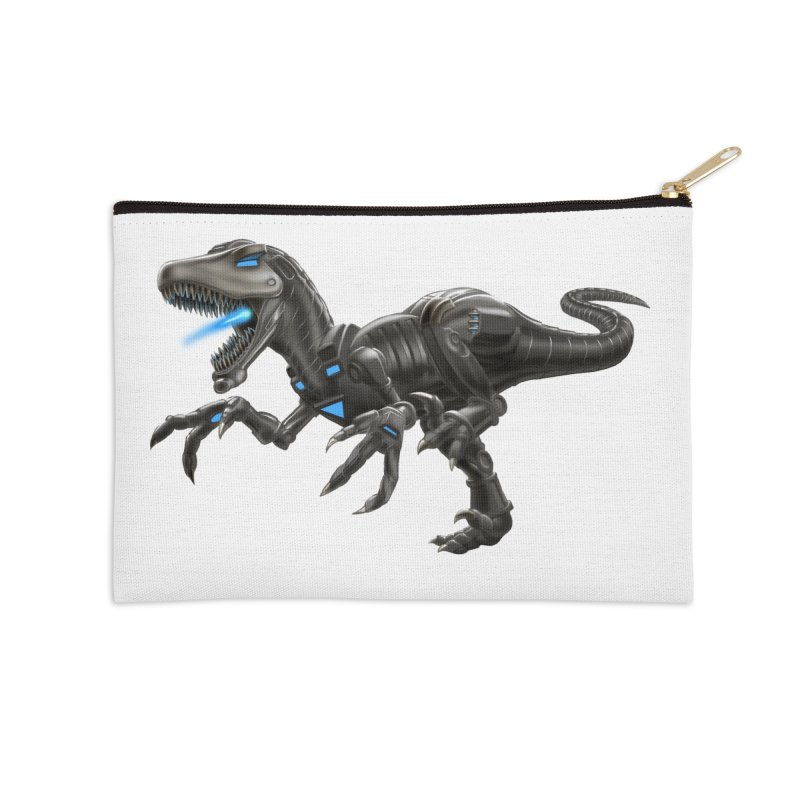 Metal Raptor Accessories Zip Pouch by Ayota Illustration Shop