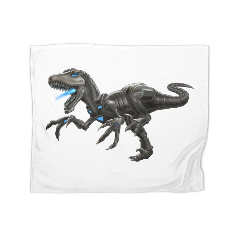 Metal Raptor Home Blanket by Ayota Illustration Shop