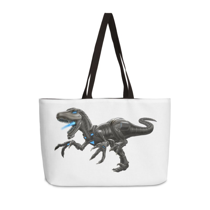 Metal Raptor Accessories Weekender Bag Bag by Ayota Illustration Shop