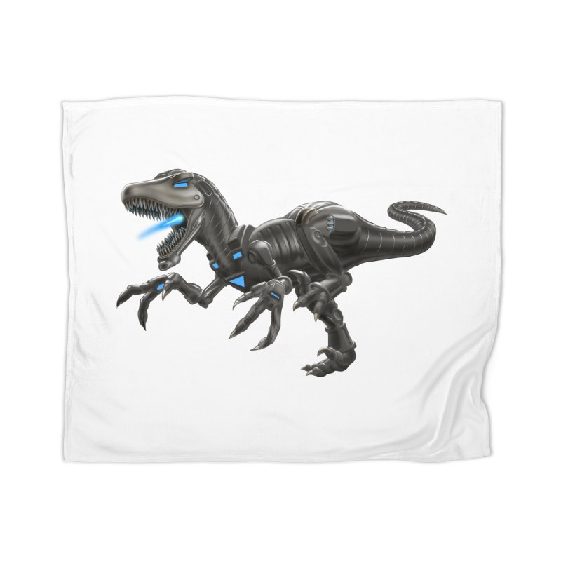 Metal Raptor Home Blanket by Ayota Illustration Shop