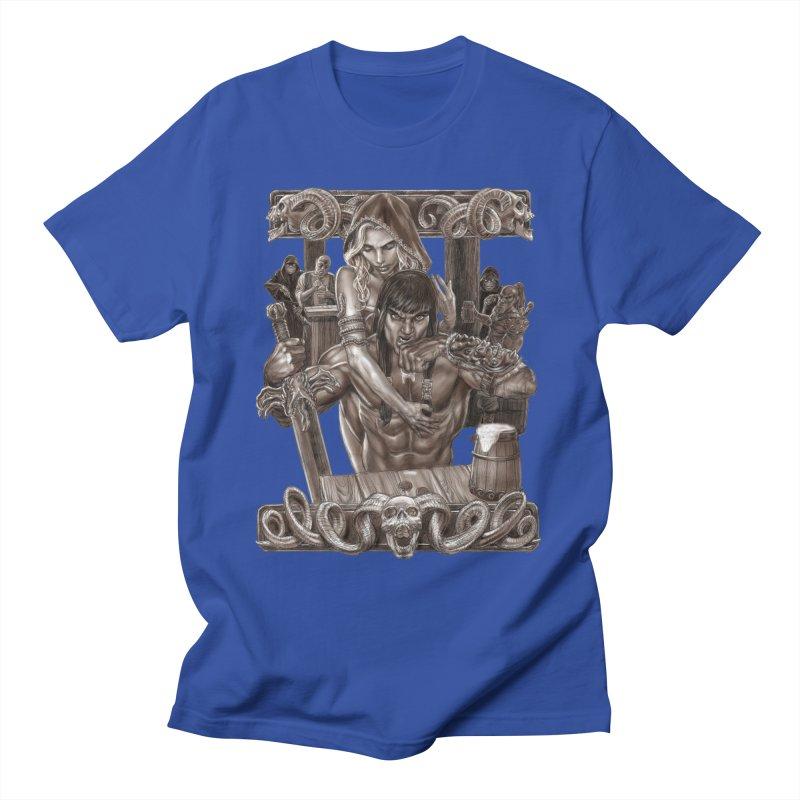 Barbarian Brew Men's T-Shirt by Ayota Illustration Shop
