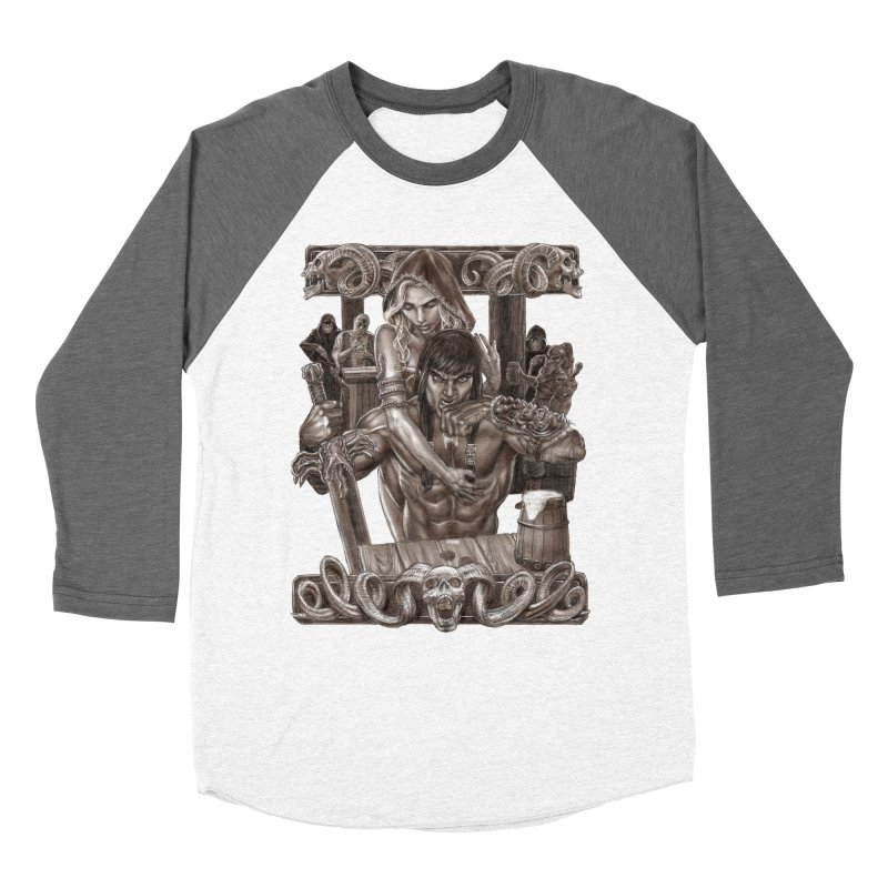 Barbarian Brew Women's Longsleeve T-Shirt by Ayota Illustration Shop