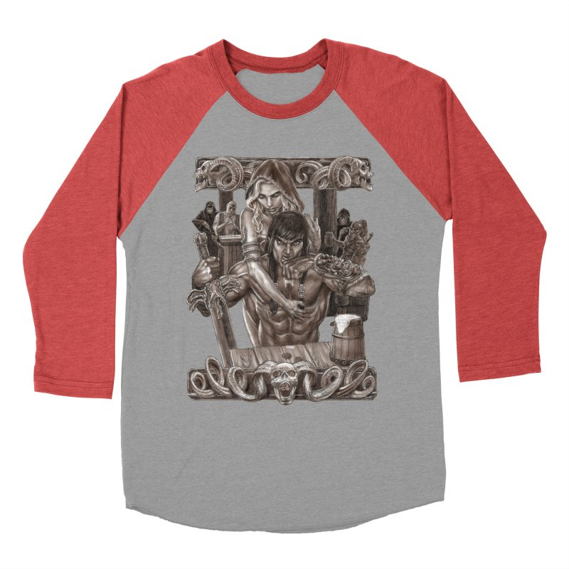 Barbarian Brew Men's Longsleeve T-Shirt by Ayota Illustration Shop