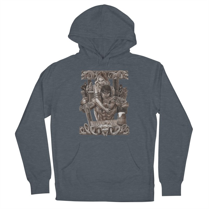 Barbarian Brew Men's Pullover Hoody by Ayota Illustration Shop