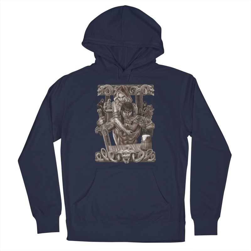Barbarian Brew Women's Pullover Hoody by Ayota Illustration Shop