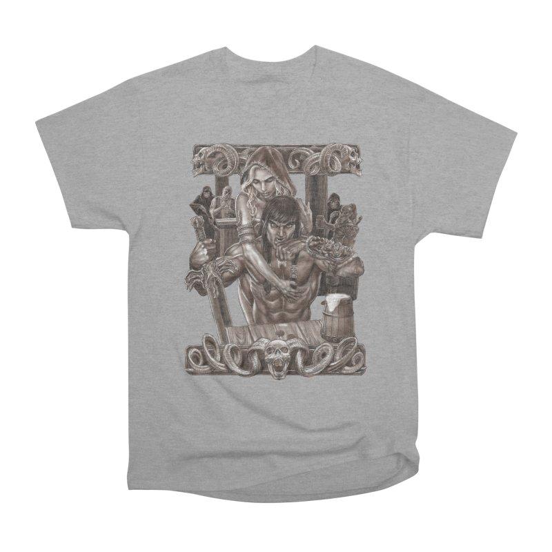 Barbarian Brew Men's Heavyweight T-Shirt by Ayota Illustration Shop