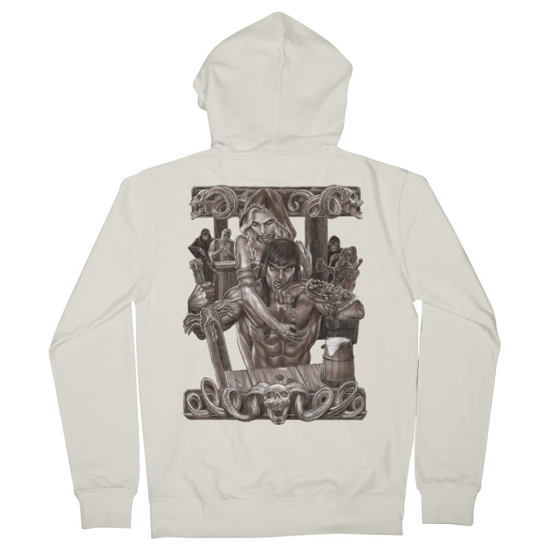 Barbarian Brew Women's Zip-Up Hoody by Ayota Illustration Shop
