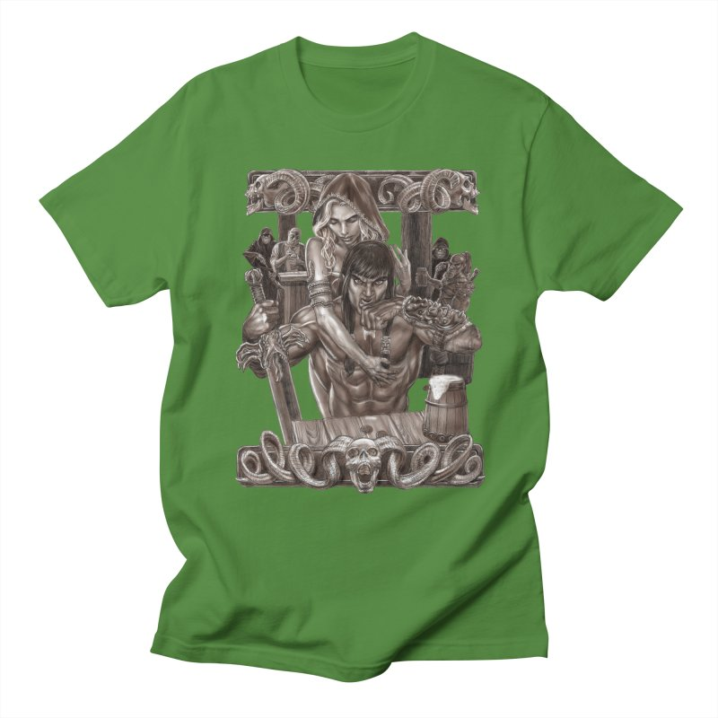 Barbarian Brew Women's Regular Unisex T-Shirt by Ayota Illustration Shop