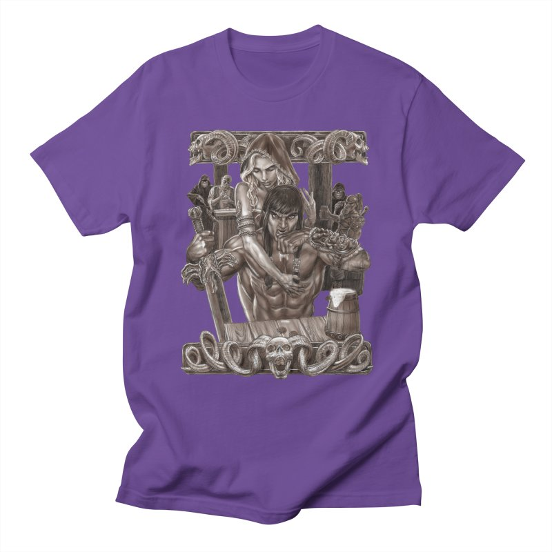 Barbarian Brew Men's Regular T-Shirt by Ayota Illustration Shop