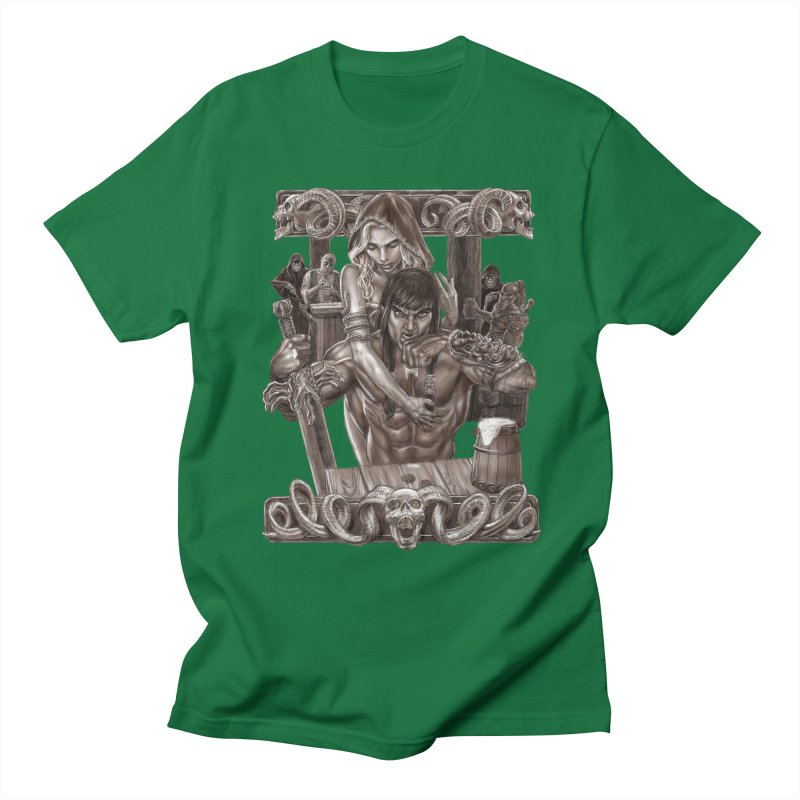 Barbarian Brew Men's T-Shirt by Ayota Illustration Shop