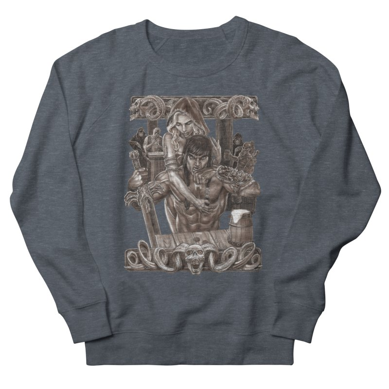Barbarian Brew Women's Sweatshirt by Ayota Illustration Shop