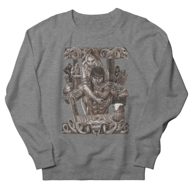 Barbarian Brew Women's Sweatshirt by Ayota Illustration Shop