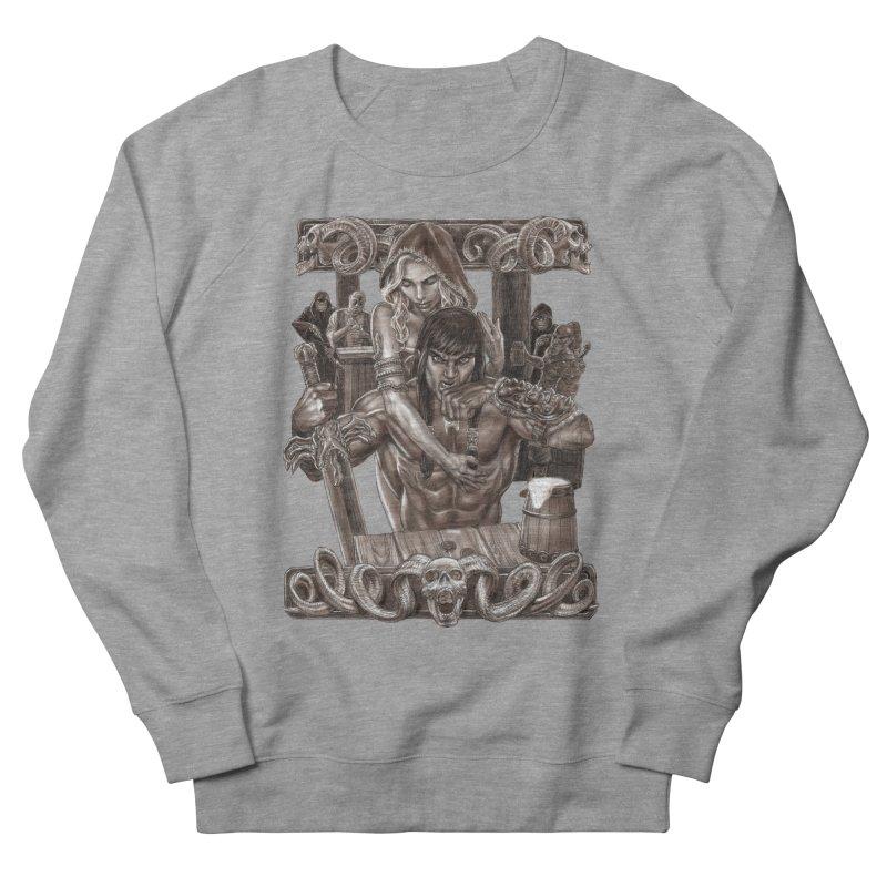Barbarian Brew Men's Sweatshirt by Ayota Illustration Shop