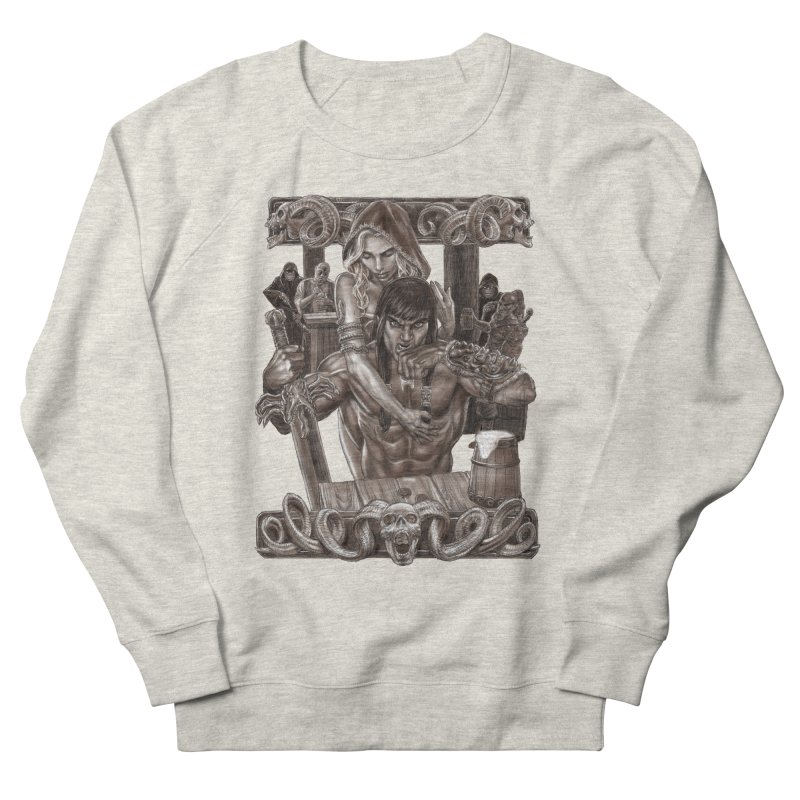 Barbarian Brew Men's Sweatshirt by Ayota Illustration Shop