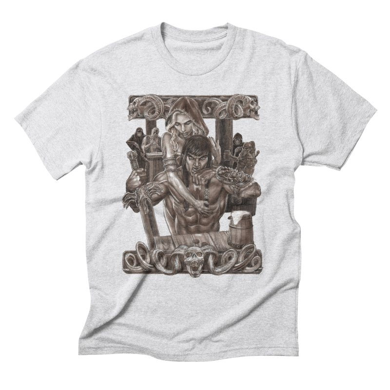 Barbarian Brew Men's Triblend T-Shirt by Ayota Illustration Shop