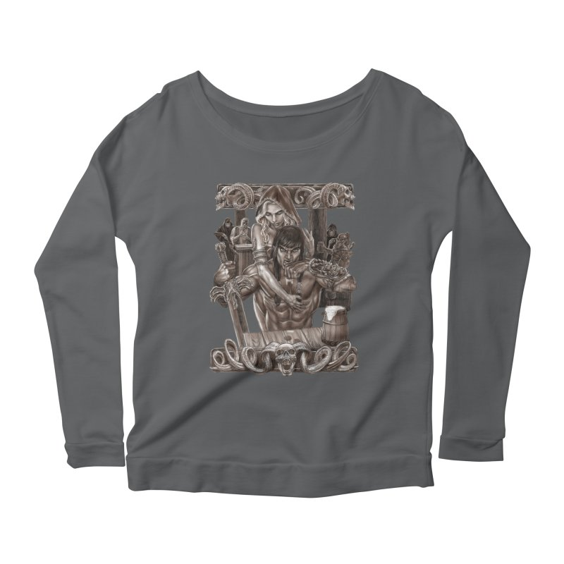 Barbarian Brew Women's Longsleeve T-Shirt by Ayota Illustration Shop