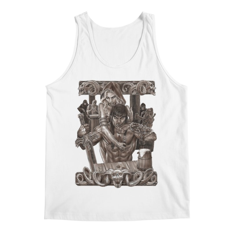 Barbarian Brew Men's Regular Tank by Ayota Illustration Shop