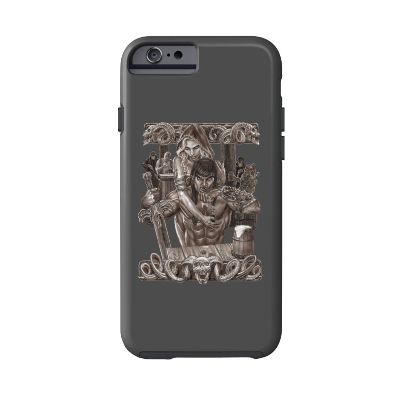 Barbarian Brew Accessories Phone Case by Ayota Illustration Shop