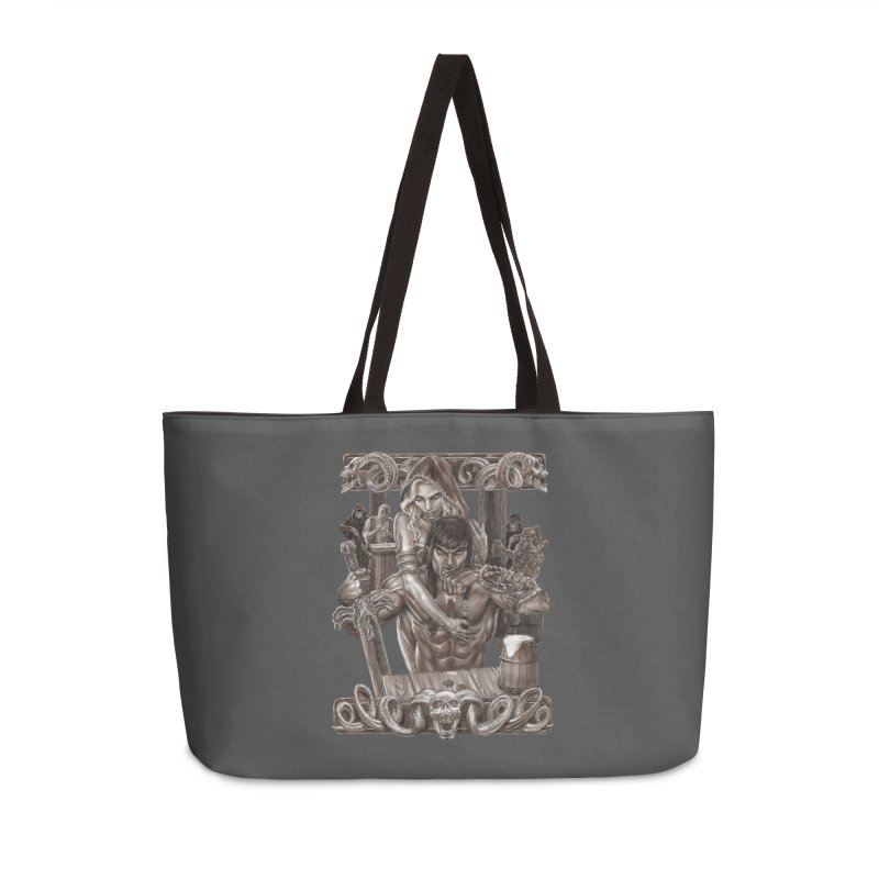 Barbarian Brew Accessories Bag by Ayota Illustration Shop