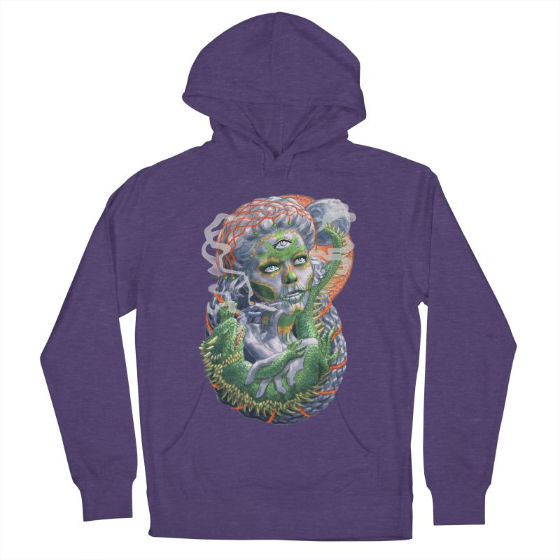 Mary Jane Catrina Women's French Terry Pullover Hoody by Ayota Illustration Shop