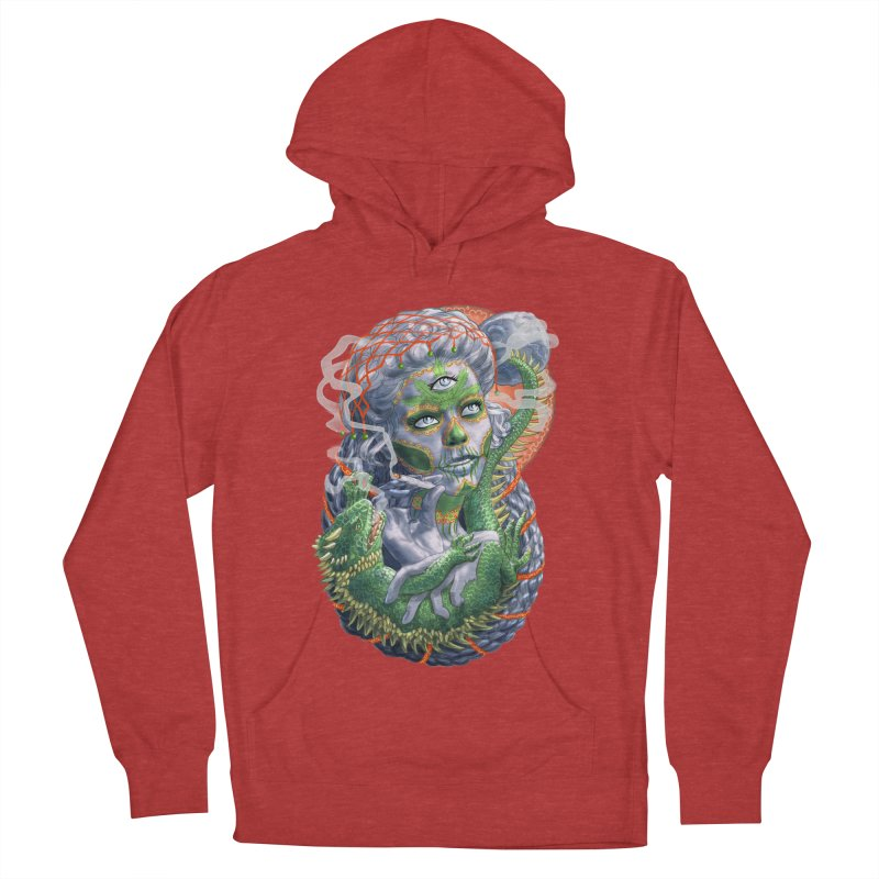 Mary Jane Catrina Men's French Terry Pullover Hoody by Ayota Illustration Shop