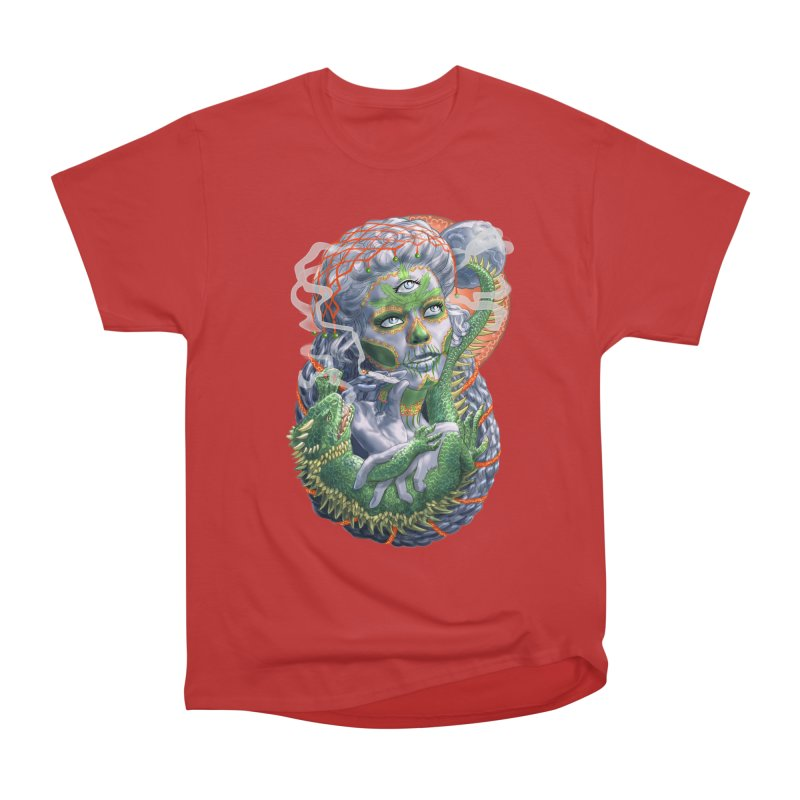 Mary Jane Catrina Men's Heavyweight T-Shirt by Ayota Illustration Shop