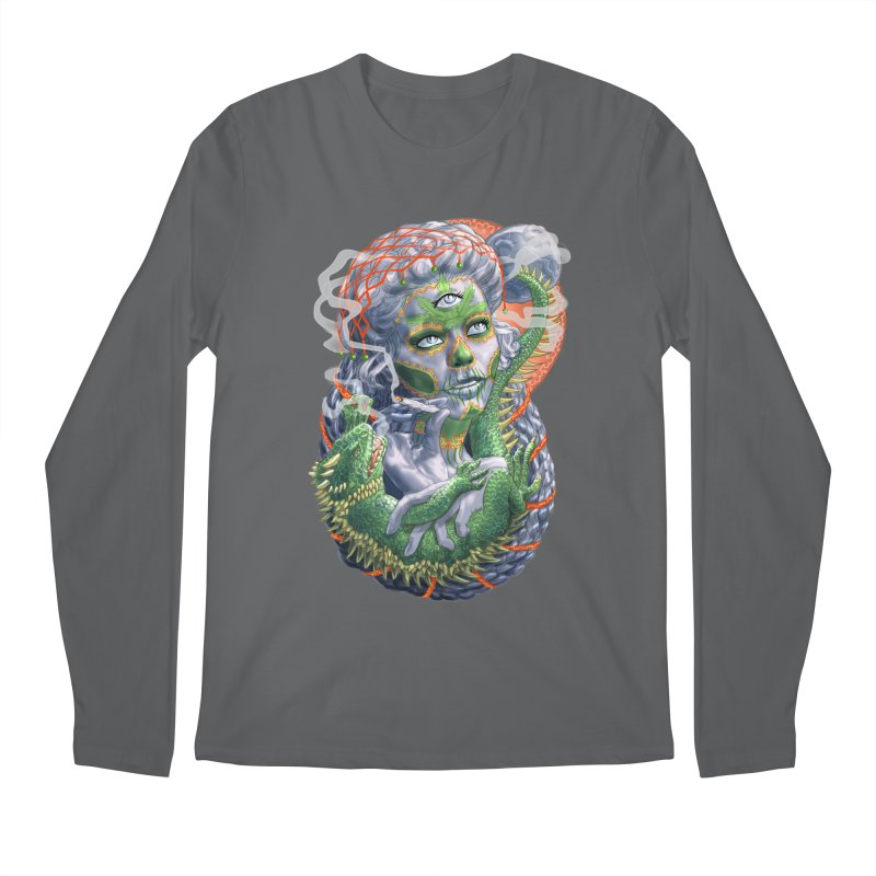 Mary Jane Catrina Men's Longsleeve T-Shirt by Ayota Illustration Shop
