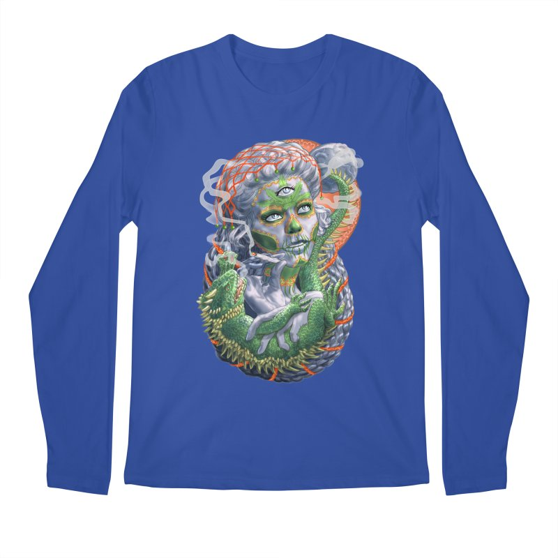 Mary Jane Catrina Men's Regular Longsleeve T-Shirt by Ayota Illustration Shop