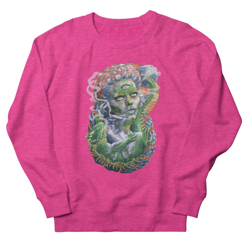 Mary Jane Catrina Women's French Terry Sweatshirt by Ayota Illustration Shop