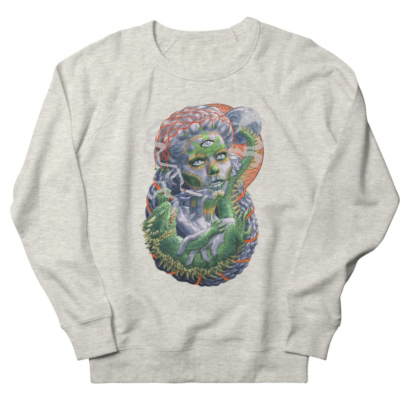 Mary Jane Catrina Women's French Terry Sweatshirt by Ayota Illustration Shop