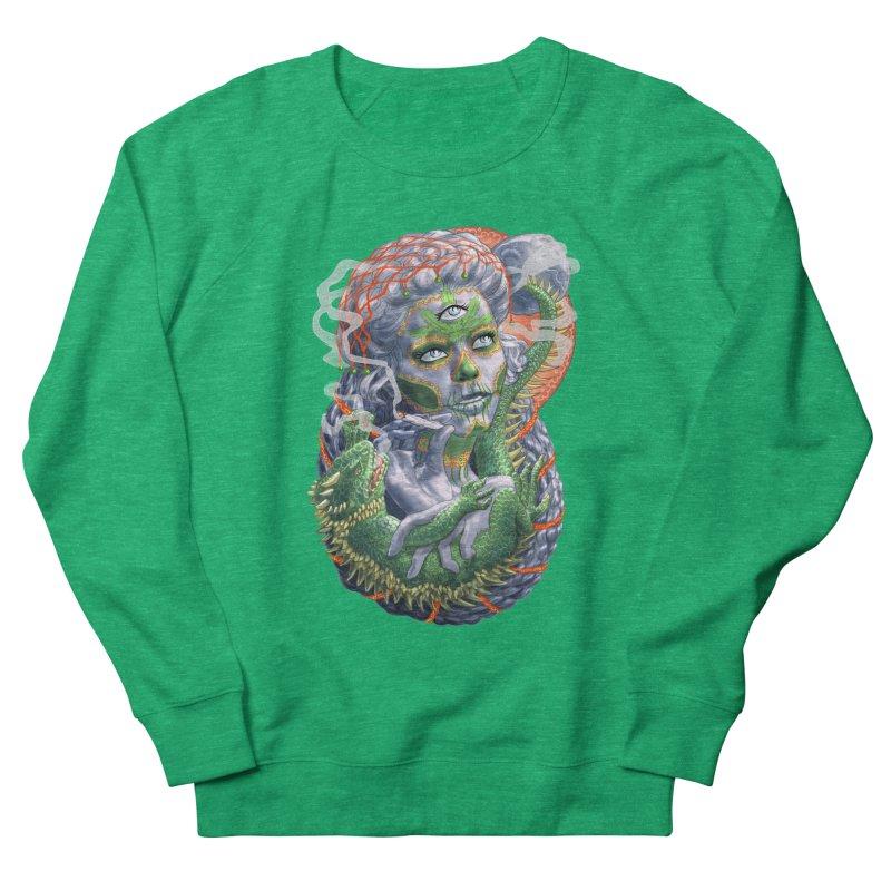 Mary Jane Catrina Men's French Terry Sweatshirt by Ayota Illustration Shop