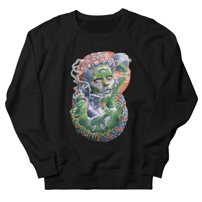 Mary Jane Catrina Men's French Terry Sweatshirt by Ayota Illustration Shop