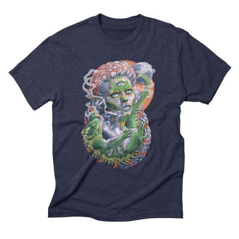 Mary Jane Catrina Men's Triblend T-Shirt by Ayota Illustration Shop