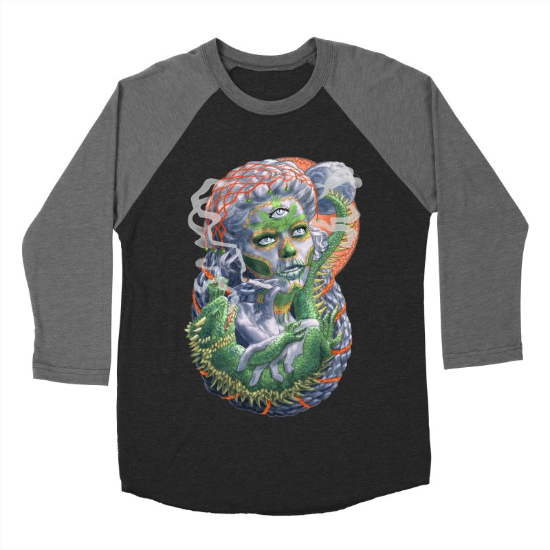 Mary Jane Catrina Women's Baseball Triblend Longsleeve T-Shirt by Ayota Illustration Shop