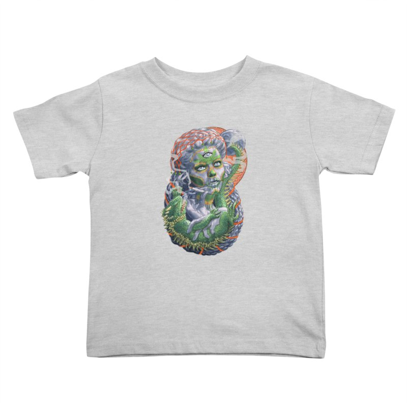 Mary Jane Catrina Kids Toddler T-Shirt by Ayota Illustration Shop