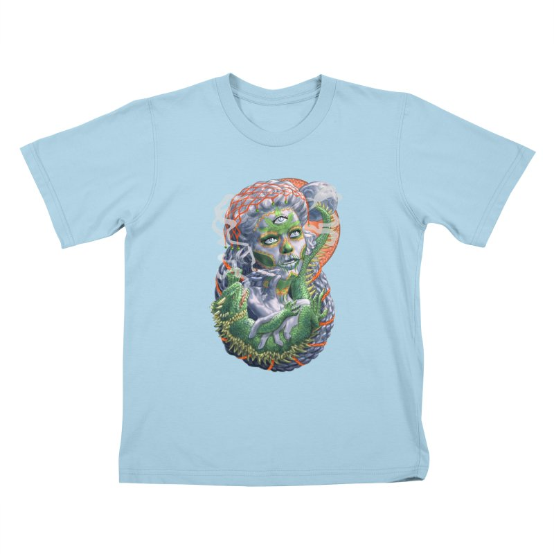 Mary Jane Catrina Kids T-Shirt by Ayota Illustration Shop
