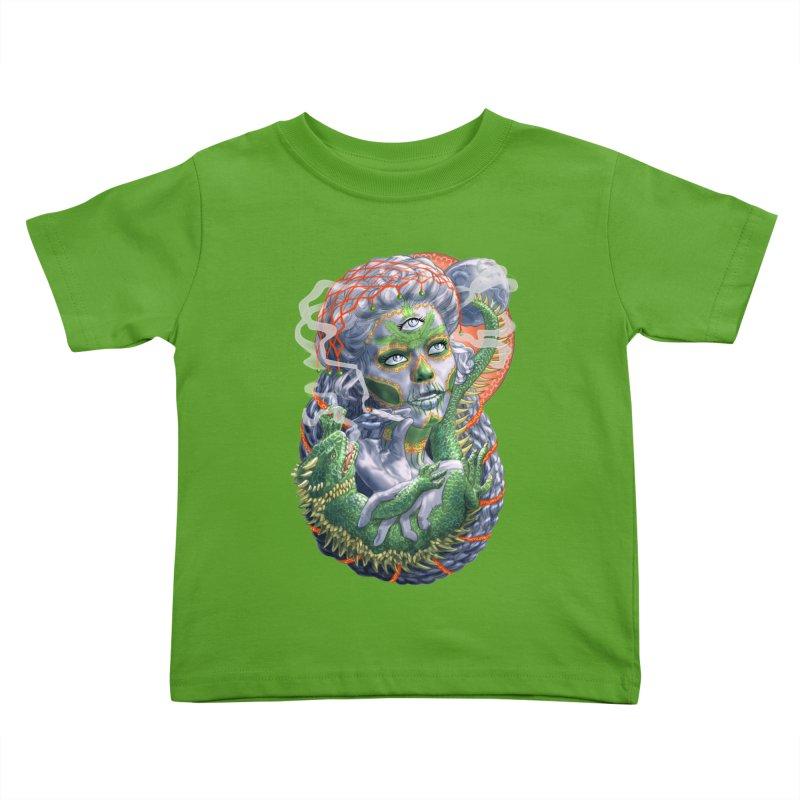 Mary Jane Catrina Kids Toddler T-Shirt by Ayota Illustration Shop