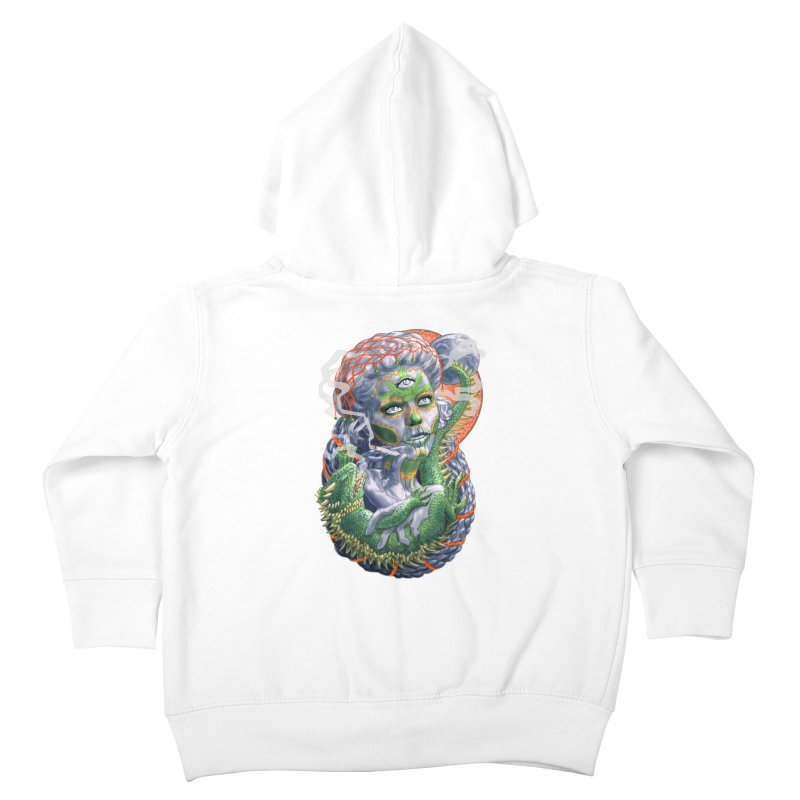 Mary Jane Catrina Kids Toddler Zip-Up Hoody by Ayota Illustration Shop