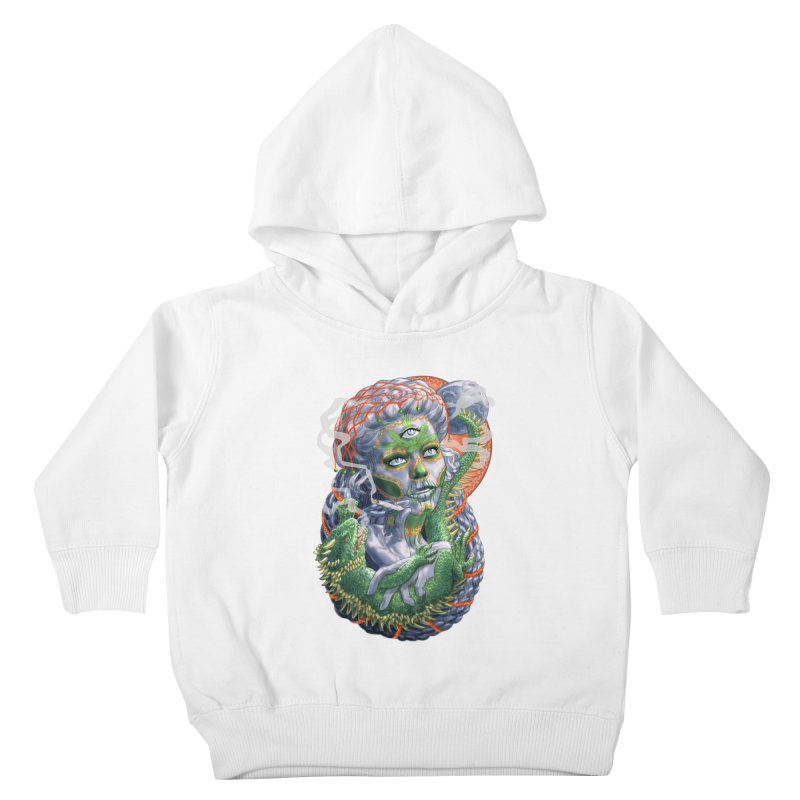 Mary Jane Catrina Kids Toddler Pullover Hoody by Ayota Illustration Shop