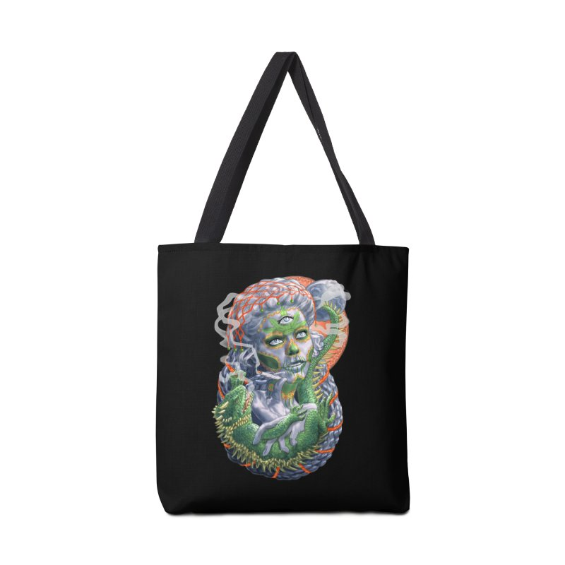 Mary Jane Catrina Accessories Tote Bag Bag by Ayota Illustration Shop